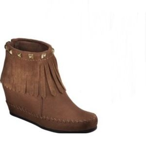Mossimo Moccasin Wedge Booties